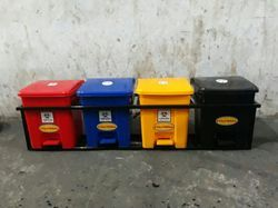 4 bin with stand