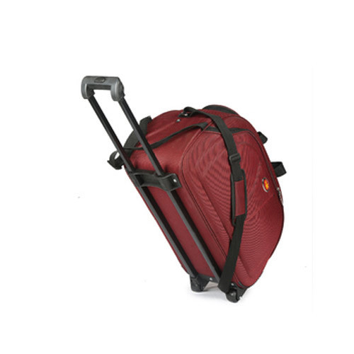 4817ff98e989 Falcon Plus Polyester Duffle Outer Trolley Bag