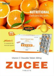 Zucee Vitamin C Chewable Tablets