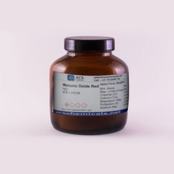 Mercuric Oxide Red Chemical