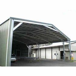 Steel Panel Build Industrial Sheds