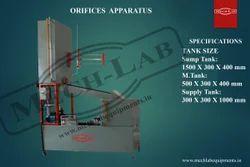 Flow Through Orifices Apparatus (Cd,Cv,Cc)