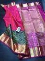 Indian Ethnic Designer Kanchipuram Party Wear Saree