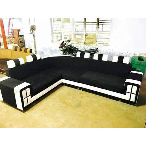 Marvelous Black L Shape Corner Sofa Caraccident5 Cool Chair Designs And Ideas Caraccident5Info