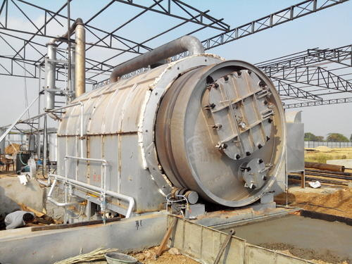 Tyre Pyrolysis Plant Cost - 5 Ton Waste Tyre Pyrolsis Plant