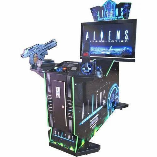 Aliens Gun Shooting 2 Player Arcade Game - 42
