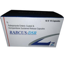 Enteric Coated Rabeprazole Sodium 20 mg Domperidone Capsules