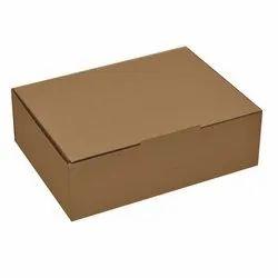 Brown Cardboard Plain Packaging Box