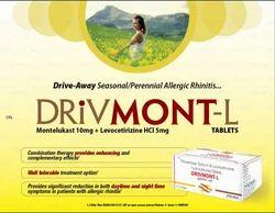 Montelukast 10mg Levocetirizine 5mg Tablets