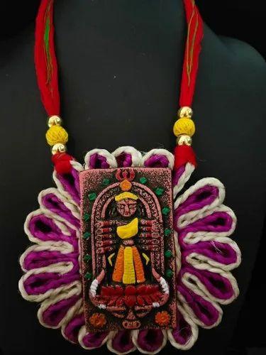 Jute Jewellery - Handmade Jute Necklace Set Manufacturer from Thane