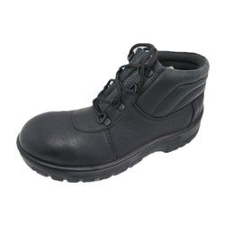 KD Sports Leather Mens Medium Ankle Safety Shoes, Laces, Packaging Type: Box