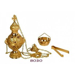 Religious Brass Incense Burners