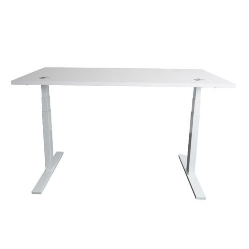 Mojo Desk White Height Adjustable Table Rs Piece Design Lab - Conference room table height
