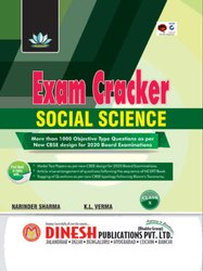 Paperback English DINESH Publications' Exam Cracker Social Science Class 10