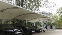 Car Parking Membrane Structure