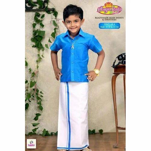 ea0a863d5 Boys Fancy Kids Dhoti Shirt