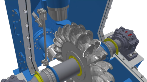 Pelton Wheel Turbine