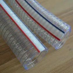 Nylon P V C Steel Spring Hoses Non - Toxic, Size/ Diameter: 4 inch
