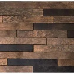 Brown Exterior Wooden Wall Panel, Thickness: 5-10 Mm