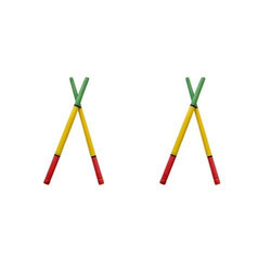 Three Color Dandiya Stick