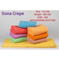 Sona Crepe Plain Cotton Bath Towel