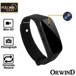 Smart Band Rubber Bracelet Spy Camera Mini Pinhole Video Recorder