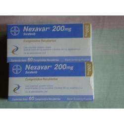 Nexavar Sorafenib Tablet, Packaging Type: Box