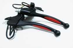 Black & Red GoGoA1 Aluminum Alloy E Bike City Bike Brake Lever