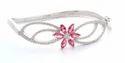 Female 100% Ladies Silver Bracelet