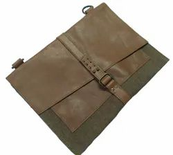 Canvas Vintage Leather Messenger Bag