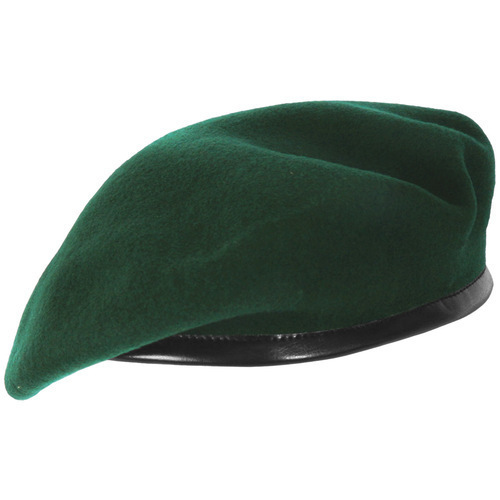 73af71f1c4a5f Green NCC Beret Cap at Rs 60  piece