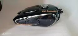 New Bmw R513 R67 R672 R673 R68 Black Painted Fuel Petrol Tank With Cap