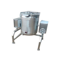 Tilting Rice Boiler, Capacity: 50 Kg