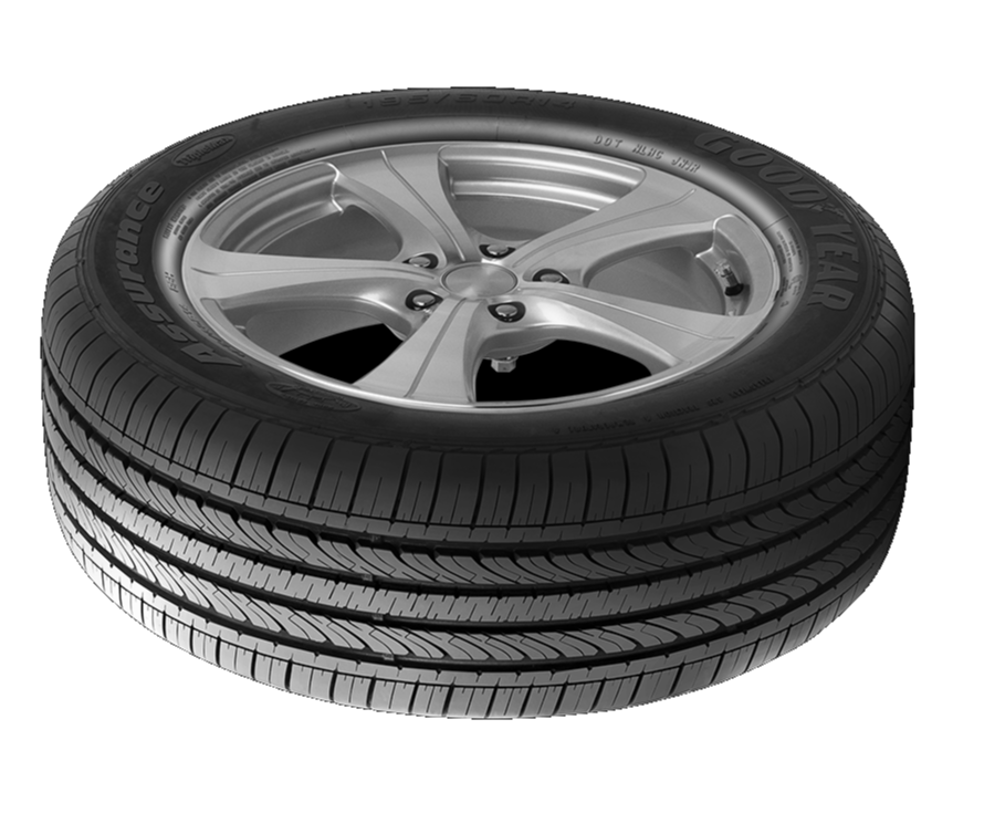 Goodyear Assurance TripleMax Tubeless Car Tyre, 14 in,65,185 mm