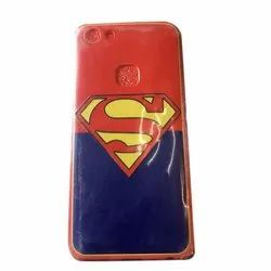 Leather Mobile Cover, Size: 5.5 Inch