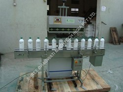 Induction Cap Sealing Machine For Engine Oil