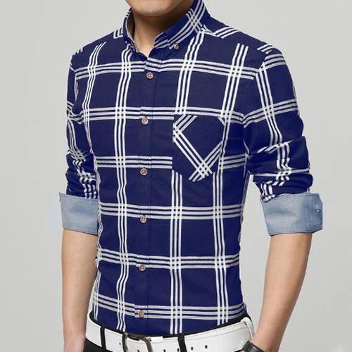Men's Latest Shirts, Gents Full Sleeve Shirts, Mens Long Sleeve ...