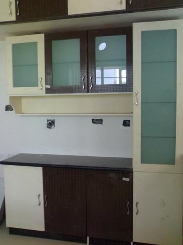 Stainless Steel Plywood Kitchen Crockery Cabinets, Rs 550 ...