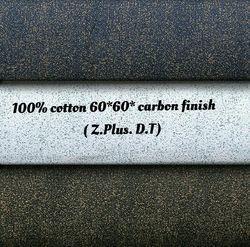 100% Cotton 60x60 Carbon Finish (Z Plus D.T) Fabric