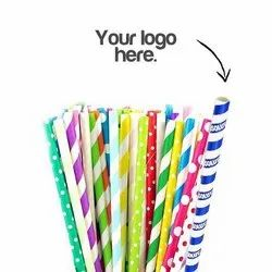 Customized Paper Drinking Straw