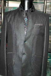 Blue Suit With Scarf Rental Service