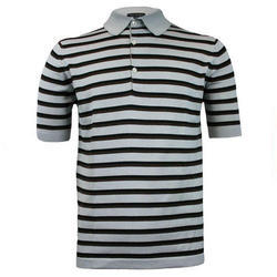 Mens Printed Polo T Shirt