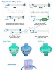 Disposable Breathing Circuit/ HME Filter/ BV Filter/ Spirometer