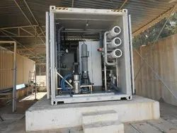 Containerized Sewage Treatment System