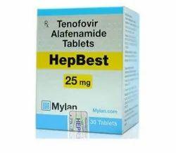 Tenofovir Alafenamide HepBest 25 Mg