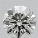 2.30ct Lab Grown Diamond CVD J VS1 Round Brilliant Cut IGI Certified Stone
