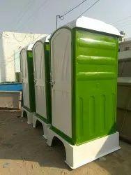 Single Seater FRP Portable Toilet