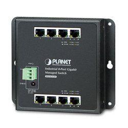 Industrial 8 Port Managed Gigabit Ethernet Switch