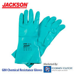 Nitrile Unisex Chemical Resistance Gloves