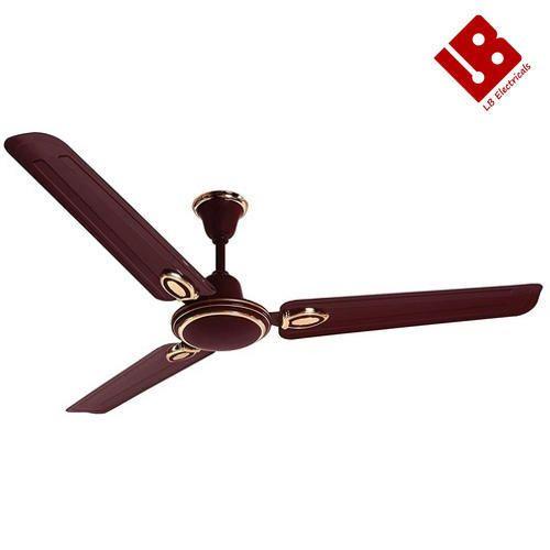 Brown Copper Ceiling Fan Warranty 2 Year L B Electricals Id 16548815830